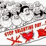 Hình ảnh chế vui nhộn về ngày Valentine