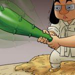 Kim Chi & Củ Cải (bộ mới) phần 603: Cục bướu