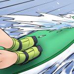 Kim Chi & Củ Cải (bộ mới) phần 606: Lướt sóng