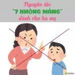 """Nguyên tắc """"7 không mắng""""  dành cho cha mẹ"""
